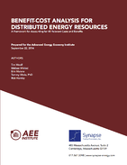 Benefit‐Cost Analysis for Distributed Energy Resources