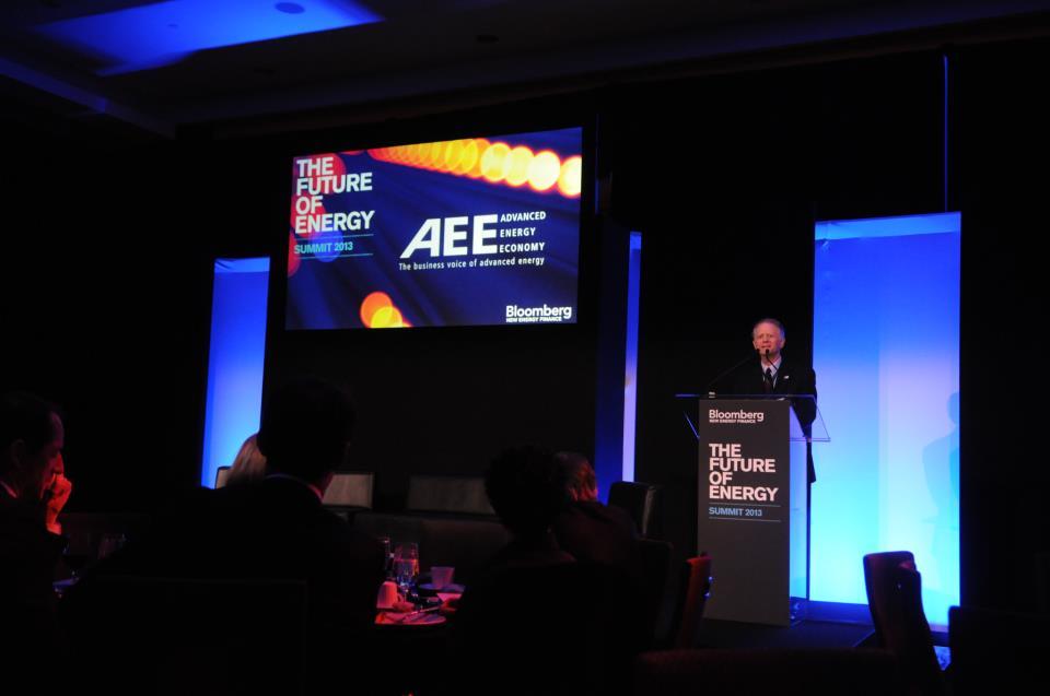 Graham Richard speaking at BNEF