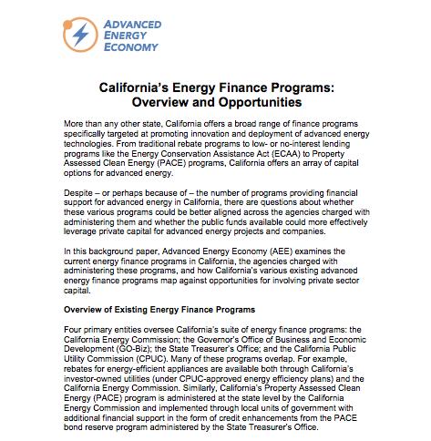 AEE_California_Energy_Finance_Programs