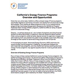 AEE_California_Energy_Finance_Programs