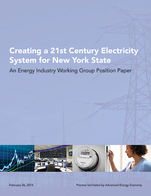 Creating a 21st Century Electricity System for New York State
