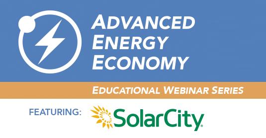 Net Energy Metering Webinar presented by SolarCity