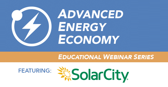 Net Energy Metering Webinar presented by SolarCity