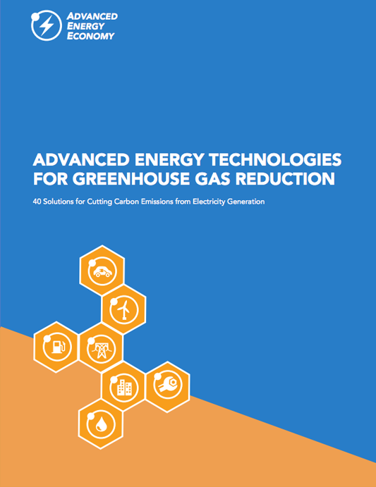 Advanced Energy Technologies for Greenhouse Gas Reduciton