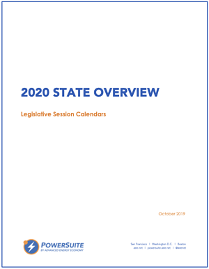 2020 State Overview - Calendars