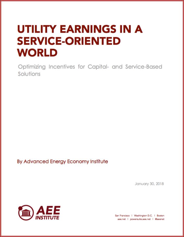 Utility Earnings in Service-Oriented World