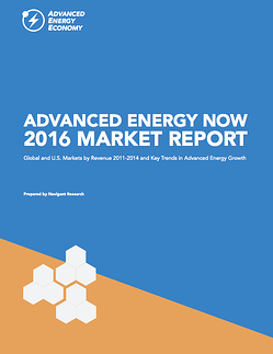 Advanced Energy Now 2016 Market Report