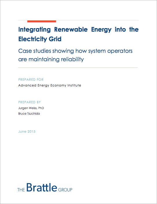 Integrating Renewable Energy into the Electric Grid