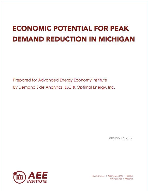 Michigan Peak Demand Report
