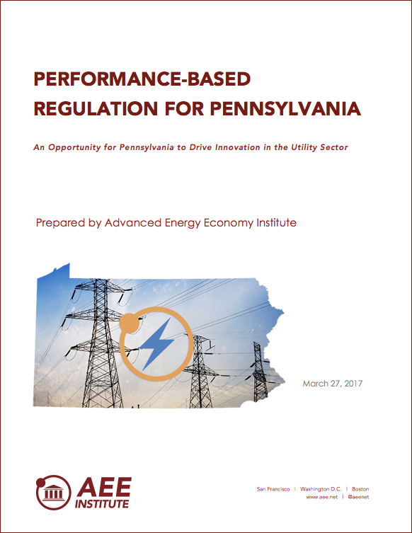 Performance-based regulation for PA