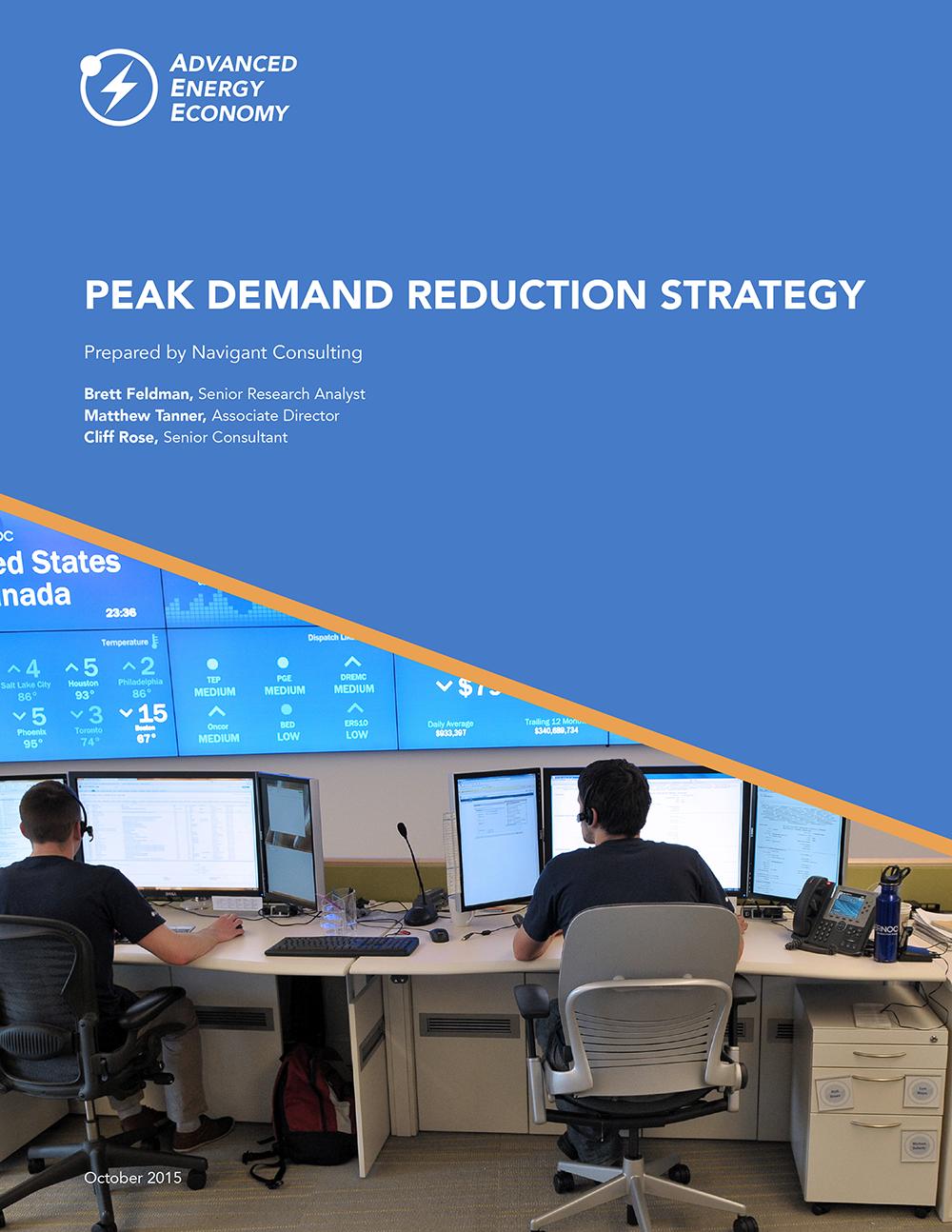 Peak Demand Reduction Strategy